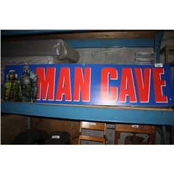 """MAN CAVE"" BANNER"