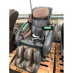 GREY OSAKI OS-4000 ZERO GRAVITY FULL BODY MASSAGE CHAIR - AS-IS/NEEDS REPAIR