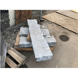 3 LARGE GRANITE BLOCKS