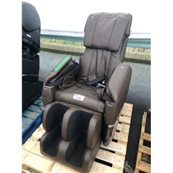BROWN BEST MASSAGE ZERO GRAVITY FULL BODY MASSAGE CHAIR - AS-IS/NEEDS REPAIR