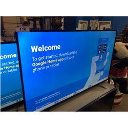 TOSHIBA 65  LED SMART TV - MODEL# 65L621U - DAMAGE ON SCREEN
