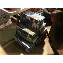 6  ASSORTED BOXES OF TIRE CHAINS