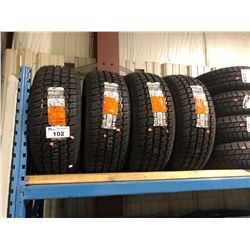 4 COOPER TIRES WEATHER-MASTER S/T2 235/60R16 100T TIRES **$5/TIRE ECO-LEVY WILL BE CHARGED**