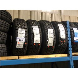 4 GOODYEAR ULTRA GRIP WINTER 195/70R14 91T TIRES **$5/TIRE ECO-LEVY WILL BE CHARGED**