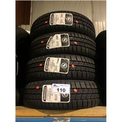 4 CONTINENTAL CONTIWINTER CONTACT 175/65R15 84T TIRES **$5/TIRE ECO-LEVY WILL BE CHARGED**