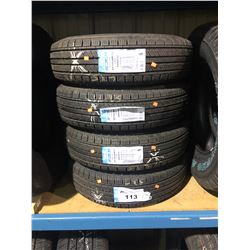 4 CARLISLE RADIAL TRAIL ST185/80R13 LRC TIRES **$5/TIRE ECO-LEVY WILL BE CHARGED**