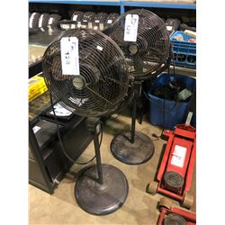 PAIR OF HONEYWELL COMMERCIAL FLOOR FANS