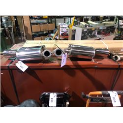 ASSORTED MUFFLERS & PARTS