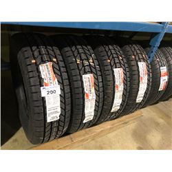 4 FIRESTONE WINTERFORCE LT265/75R16 123/120R TIRES **$5/TIRE ECO-LEVY WILL BE CHARGED**