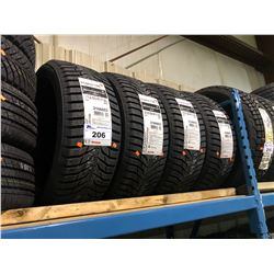 4 KUMO WINTER RAFT ICE WI31 215/50R17 XL TIRES **$5/TIRE ECO-LEVY WILL BE CHARGED**