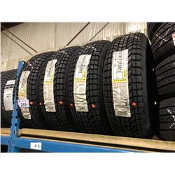 4 FIRESTONE WINTERFORCE P215/65R17 98S TIRES **$5/TIRE ECO-LEVY WILL BE CHARGED**
