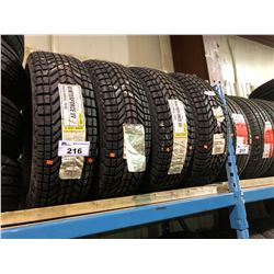 4 FIRESTONE WINTERFORCE P235/65R16 101S TIRES **$5/TIRE ECO-LEVY WILL BE CHARGED**