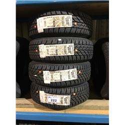 4 GOODYEAR ULTRA GRIP WINTER 205/60R15 91T TIRES **$5/TIRE ECO-LEVY WILL BE CHARGED**