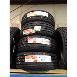 4 FIRESTONE ALL SEASON 225/50R17 94T TIRES **$5/TIRE ECO-LEVY WILL BE CHARGED**