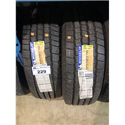 2 MICHELIN LTX M/S P225/70R17 110S TIRES **$5/TIRE ECO-LEVY WILL BE CHARGED**