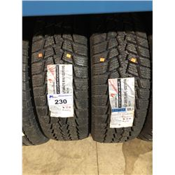 2 KUMHO TIRES POWER GRIP LT285/75R16122/119 TIRES **$5/TIRE ECO-LEVY WILL BE CHARGED**
