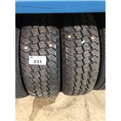 2 MARSHAL ROAD VENTURE LT275/65R18 123/120Q TIRES **$5/TIRE ECO-LEVY WILL BE CHARGED**