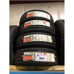 4 UNIROYAL TIGER PAW ICE & SNOW P175/70R13 820 TIRES **$5/TIRE ECO-LEVY WILL BE CHARGED**