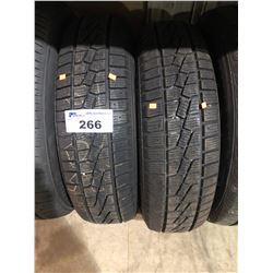 2 KUMHO IZEN P225/70R16 1010 M& S TIRES **$5/TIRE ECO-LEVY WILL BE CHARGED**