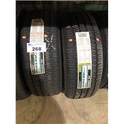 2 BRIDGESTONE DUELER H/T P235/65R16 101S TIRES **$5/TIRE ECO-LEVY WILL BE CHARGED**