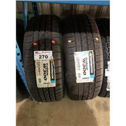 2 HANKOOK ICEBEAR W300 235/65R17 108V XL TIRES **$5/TIRE ECO-LEVY WILL BE CHARGED**