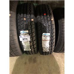 2 COOPERTIRES WEATHER-MASTER S/T2 215/75R15 100S TIRES **$5/TIRE ECO-LEVY WILL BE CHARGED**