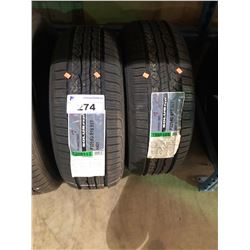 2 KUMHO TIRES SOLUS KR21 P225/60R15 95T TIRES **$5/TIRE ECO-LEVY WILL BE CHARGED**