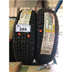 2 FIRESTONE WINTERFORCE175/70R13 82S TIRES **$5/TIRE ECO-LEVY WILL BE CHARGED**