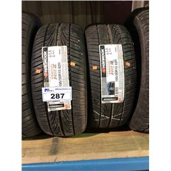 2 HANKOOK VENTUS HR2 195/50R15 82H TIRES **$5/TIRE ECO-LEVY WILL BE CHARGED**