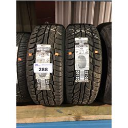 2 COOPERTIRES WEATHER-MASTER WSC 205/50R17 XL 93T TIRES **$5/TIRE ECO-LEVY WILL BE CHARGED**