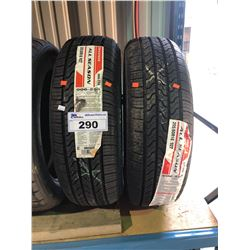 2 FIRESTONE ALL SEASON 205/60R16 92T TIRES **$5/TIRE ECO-LEVY WILL BE CHARGED**