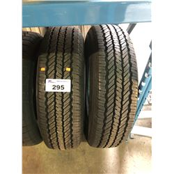 2 GENERAL GRABBER AW LT225/75R17 116/113Q TIRES **$5/TIRE ECO-LEVY WILL BE CHARGED**