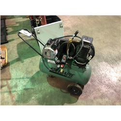 GREEN SPEEDAIRE HORIZONTAL PORTABLE AIR COMPRESSOR