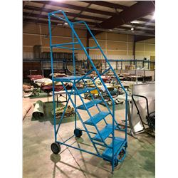 BLUE MOBILE 6FT WAREHOUSE STAIRS