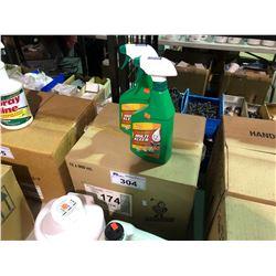 BOX OF KLEEN-FLO MULTI-KLEEN ALL PURPOSE CLEANER