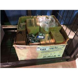 BOX OF ASSORTED LUG NUTS & SETS