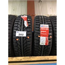 2 GT RADIAL CHAMPIRO ICEPRO 205/60R16 96T TIRES **$5/TIRE ECO-LEVY WILL BE CHARGED**