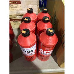 6 BOTTLES OF KLEEN-FLO ACE METHYL ALCOHOL