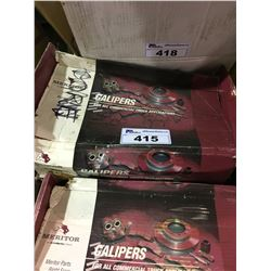 3 MERITOR COMMERCIAL TRUCK CALIPERS