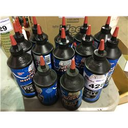13 BOTTLES OF KLEEN - FLO ROCKET RED TRANSMISSION FIX - ALL