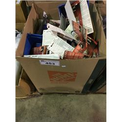 LARGE BOX OF ASSORTED ANTI - SEIZE, SEALANTS & TRUCK PRODUCTS