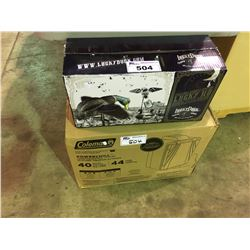 LUCKY DUCK PREMIUM DECOY AND COLEMAN POWERED COOLER