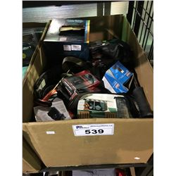 BOX OF MISC OUTDOOR PRODUCTS