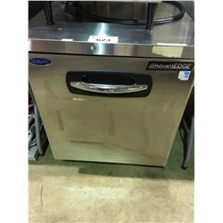 NORLAKE STAINLESS STEEL SINGLE DOOR MOBILE PREP FRIDGE