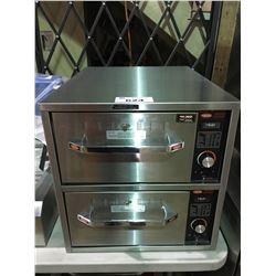 STAINLESS STEEL ATCO 2 DRAWER WARMER