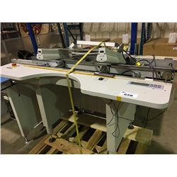 ASYS AUTOMATED INSPECTION TABLE WITH OVERHEAD LIGHTS
