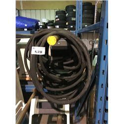 INDUSTRIAL WATER HOSE AND HOSE REEL