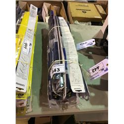 PACK OF ASSORTED SIZE WIPER BLADES