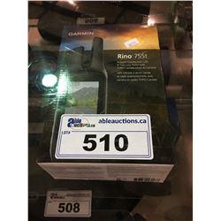 GARMIN RHINO 755T TOUCHSCREEN GPS
