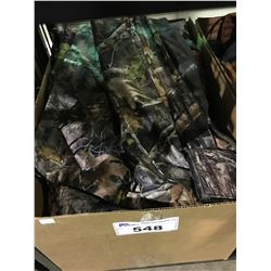 BOX OF ASSORTED OUTDOOR CLOTHING